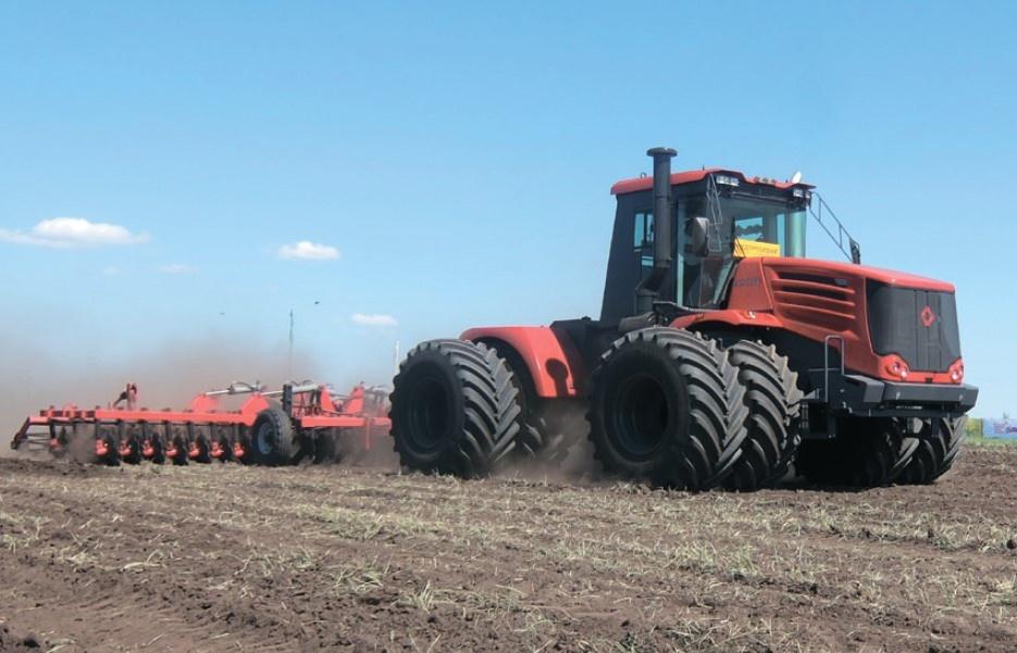 1098 Tractors Prospekt KIROVETS K-7M Knicklenker Traktoren